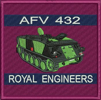 AFV 432 Badge
